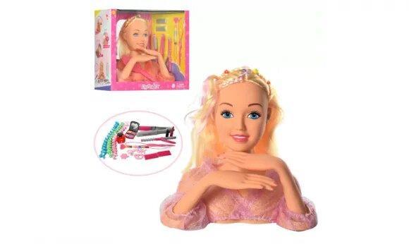 Голова куклы для причесок (Кукла-манекен) DEFA