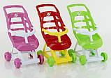 Прогулочная коляска для куклы 00147, фото 10