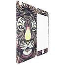 Защитное стекло  for Apple iPhone 6/6S LUXO Animal back/face тигр, фото 2
