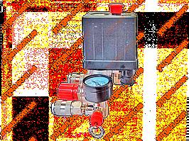 Редуктор давления с автоматикой и манометрами (большой).