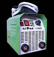 Сварочный инвертор Атом I-180M без кабелей, с байонетными штекерами Abicor Binzel