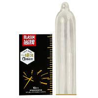 Презервативи з ефектом проолонгаціі Elasun Iron Man, чорні 10 шт оригінал 6921137760886