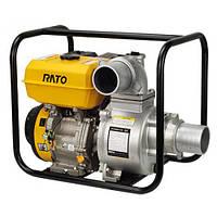 Мотопомпа бензиновая Rato RT100ZB26-5.2Q (6.5 л.с., 1600 л/мин)