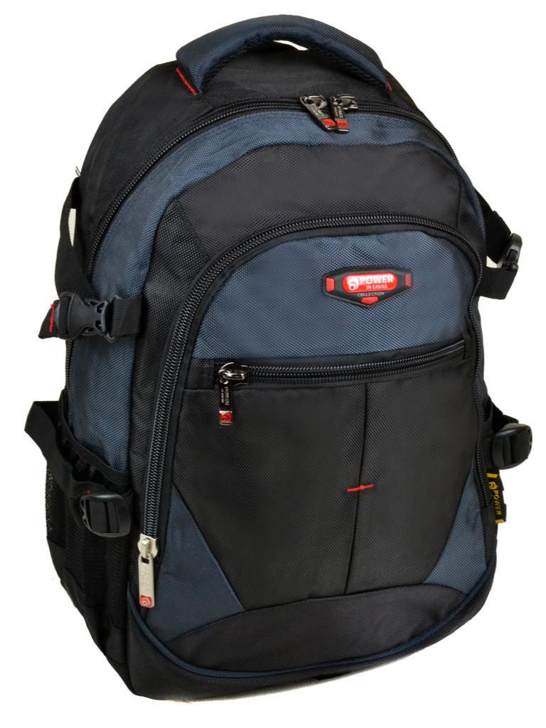 Рюкзак Городской нейлон Power In Eavas 9612 black-blue