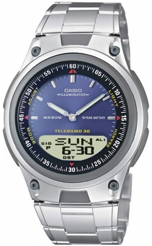 Годинник CASIO AW-80D-2AVEF чоловічий наручний годинник касіо оригінал