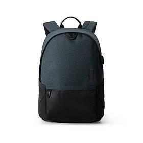 """Рюкзак для ноутбука 15.6"""" BAGSMART черный водостойкий (FBBM0301008A001BS)"""