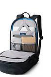 """Рюкзак для ноутбука 15.6"""" BAGSMART черный водостойкий (FBBM0301008A001BS), фото 5"""