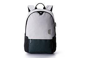 "Рюкзак для ноутбука 15.6"" BAGSMART серый водостойкий (FBBM0301008A008BS)"