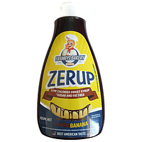 Низкокалорийный сироп (low calories syrup Zerup) 425 мл со вкусом шоколад-банан
