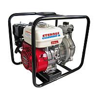 Мотопомпа бензиновая Eternus WH15S высокого давления (5.5 л.с., 200 л/мин)