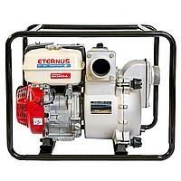 Мотопомпа бензиновая Eternus WT30X для полугрязной воды (8 л.с., 1210 л/мин)