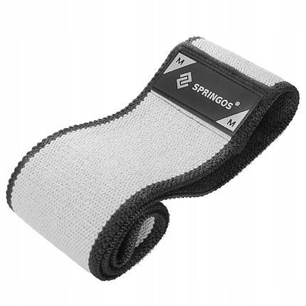 Гумка для фітнесу та спорту тканинна Springos Hip Band Size M FA0114, фото 2
