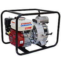 Мотопомпа бензиновая Eternus WH30S для грязной воды (5.5 л.с., 750 л/мин)