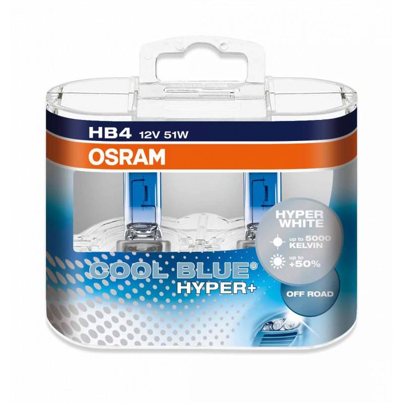 Osram Cool Blue Hyper Plus 5000K HB4