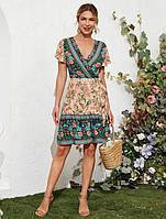 Платье женское в стиле Бохо Flower meadow Berni Fashion (S)