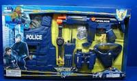 Полицейский набор Limo Toy 33530, автомат, рация, пистолет, наручники