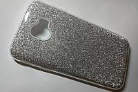 Чехол глиттер для Samsung Galaxy J4 2018/ J400 серебряный (Чехол Remax Glitter для Самсунг J4 2018 , J400