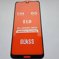 Защитное стекло Optima 3D для Nokia 3,2 / Nokia 3 2019 Черное (3д стекло на Нокия 3.2 , Нокия 3 2019