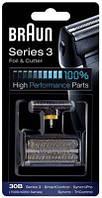 Аксессуар для бритв BRAUN блок+сетка series 3 30B (код 597946)