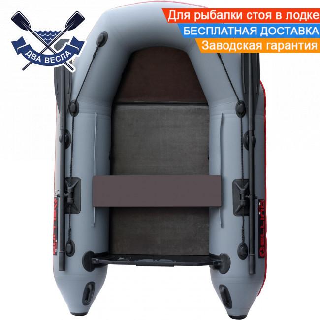 Моторная лодка Elling Тендер-200 одноместная со слань-книжкой, брызгоотбойником и сдвижн сиденьем