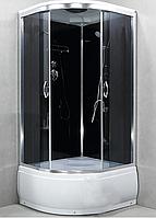 Гидробокс StarWhite 8300 90x90 глубокий поддон, без электричества, тонированное стекло