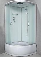 Душевой бокс StarWhite 8301 90x90 глубокий поддон, без электричества, матовое стекло