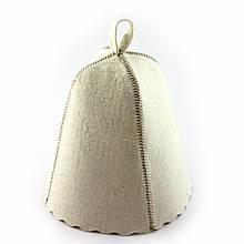 Шапка для сауны SaunaPro натуральный войлок (A-182)