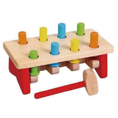 Развивающая игрушка Viga Toys Забей гвоздик (59719)