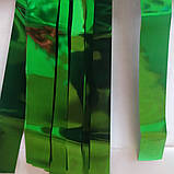 Лєнта зелений фольга упаковка(50мм/195см/22шт), фото 2