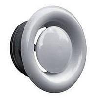 Металлический  анемостат DVS 125 мм