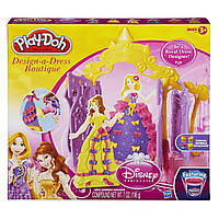 Пластилін Бутік для Принцес Disney Play-Doh Disney Princess Design-a-Dress Boutique, фото 1