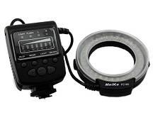 Макровспишка кільцева Meike FC100 LED Canon Nikon