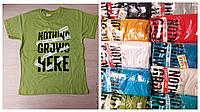 """Подростковая футболка для мальчика """"Nothing"""" размер 9-14 лет, цвет уточняйте при заказе"""