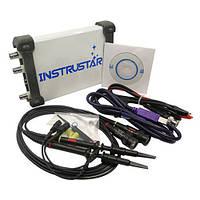 Осцилограф USB приставка ISDS220B, DDS генератор, 2канала 60МГц 200МС/с
