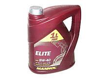 Масло моторне MANNOL Elite синтетика 5w40 3+1L SN/CF