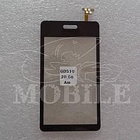 Сенсор LG GD510 black