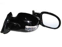 Дзеркала зовнішні 3252 C Black глянець, з подсв.і указ.поворотів (пара)