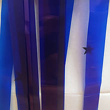 Лєнта синій фольга упаковка (50мм/195см/22шт)
