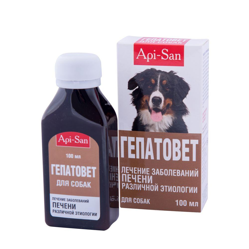 Суспензія Api-San Апі сан Гепатовет для собак орального застосування 100 мл