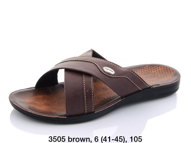 Шлепанцы Oscar 3505 brown