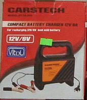 Зарядний пристрій. Carstech 54-060 6-12V 0-6A світлодіод.