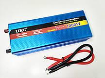 Перетворювач з чистою синусоїдою AC/DC 12v 1200W