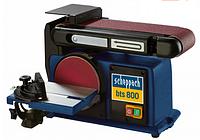 Шлифовальный ленточно-дисковый верстат Scheppach BTS 800, 370Вт, 230В, 50Гц MTG