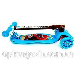 Самокат Scooter 03 MZ зі складаним ручкою, 4-х колісний