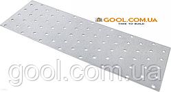 Пластина перфорированная 25х56х2мм металлическая для соединения деревянных конструкций упаковка 200 штук