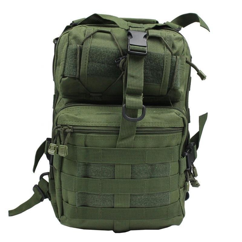 Сумка-рюкзак тактическая военная A92 800D, олива