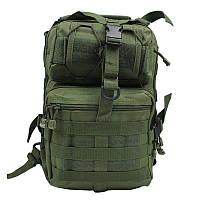 Сумка-рюкзак тактическая военная A92 800D, олива, фото 1