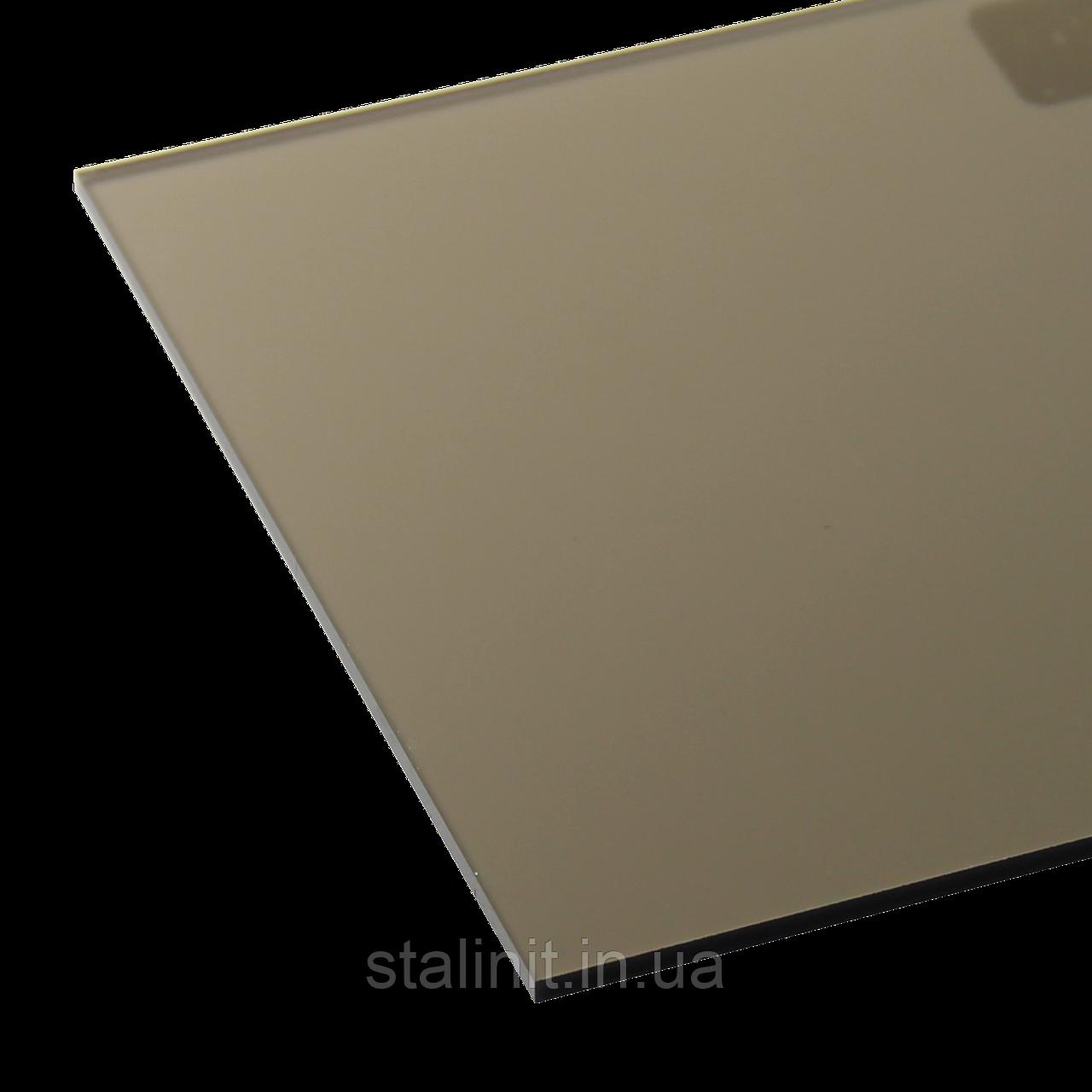 Монолитный поликарбонат PULSUN d=3 mm бронза