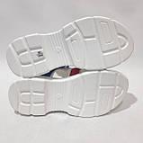 38,39 р. Босоніжки жіночі, літні сандалі на товстій підошві, фото 8