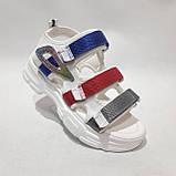 38,39 р. Босоніжки жіночі, літні сандалі на товстій підошві, фото 3